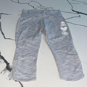 Lululemon x SoulCycle Mesh Cropped Leggings Sz 8